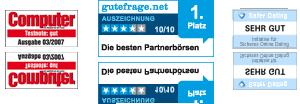 Das seriöse Dating Portal bildkontakte.de wurde mehrfach ausgezeichnet.