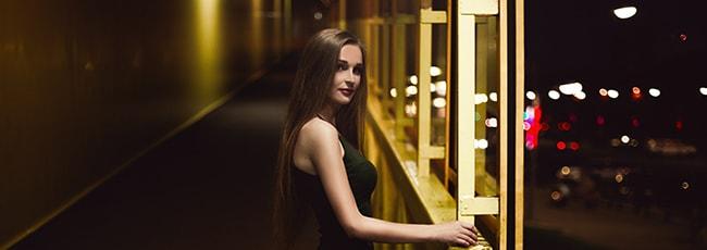 Fotos von gut aussehenden FKK-Frauen